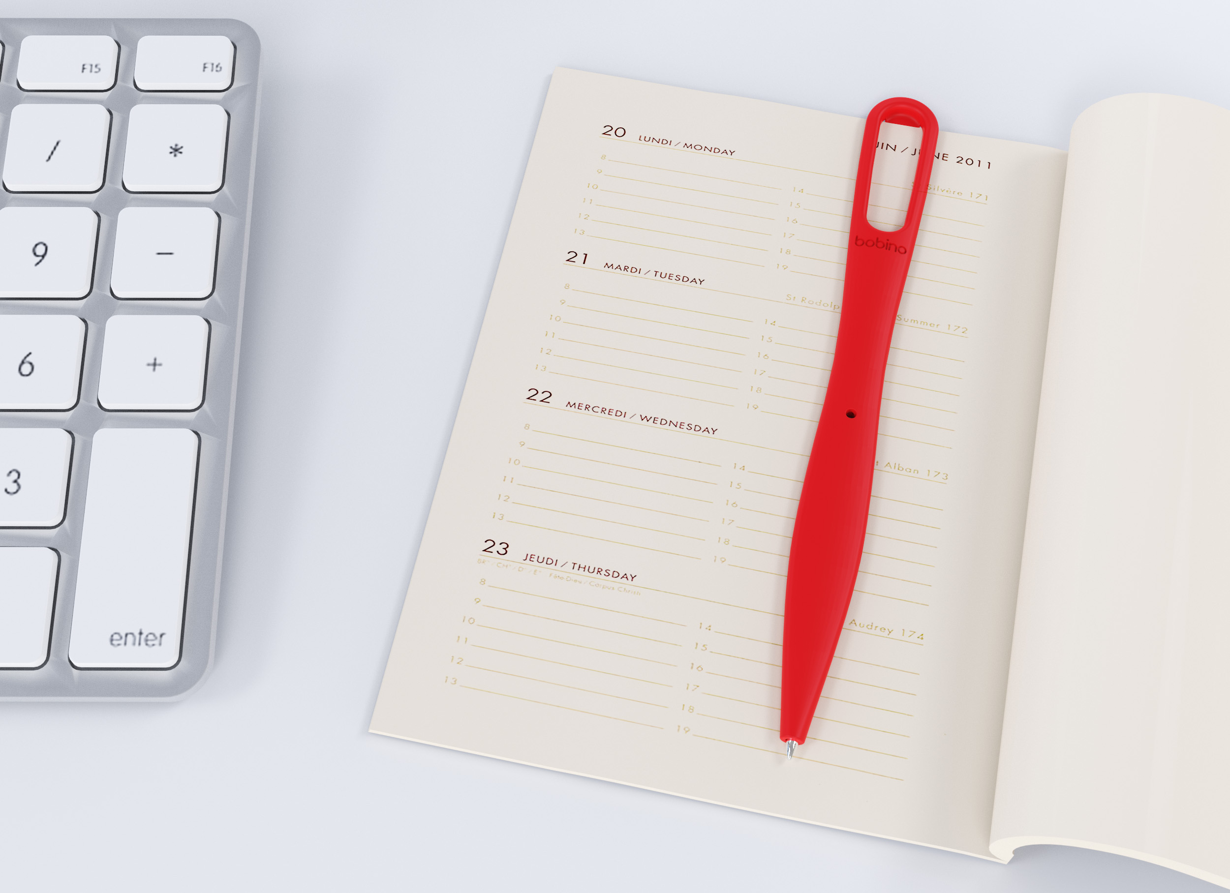 Bobino - Bookmark Pen 02